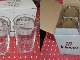 bicchieri Ichnusa